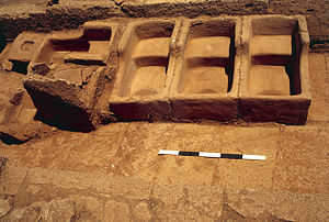 Phalasarna - Baths of Hellenistic period excavated at Phalasarna