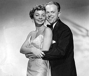 Mimi Hines - Publicity photo of Hines and Ford.