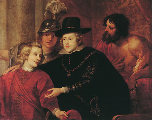 Philip IV. and Ferdinand of Austria