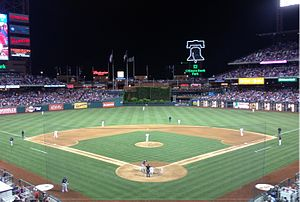 2012 Philadelphia Phillies season - Phillies playing against the Red Sox on May 18