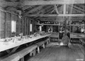 Photograph of Mess Hall at a Logging Camp - NARA - 2129369.tif