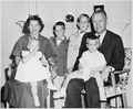 Photograph of Representative Gerald R. Ford with his Wife Betty and Their Children - NARA - 186864.tif