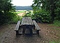 Picnic bench overlooking the Wye valley - geograph.org.uk - 917955.jpg