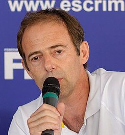 Pierre Guichot FFE press conference 2013.jpg