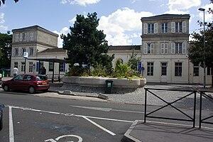 Gare de Pierrefitte - Stains - Railway station of Pierrefitte - Stains.