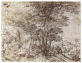 Pieter Bruegel the Elder - 1554 - Landscape with a Group of Trees and a Mule.jpg
