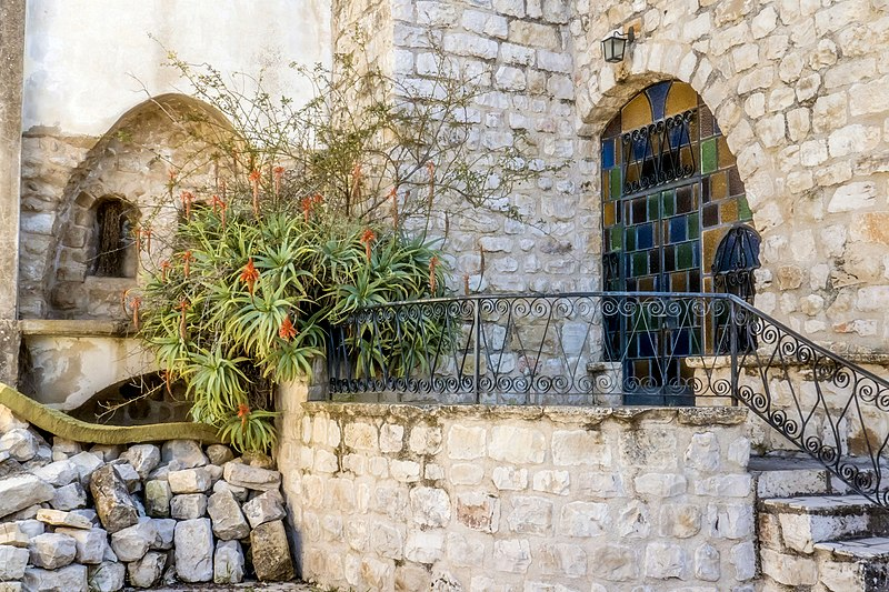 צפת העתיקה מבנה