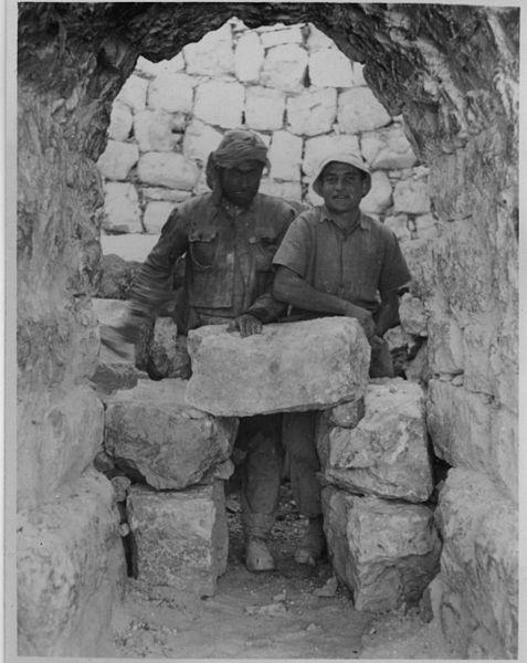 המחצבה בתחיה - גת-רימון 191944