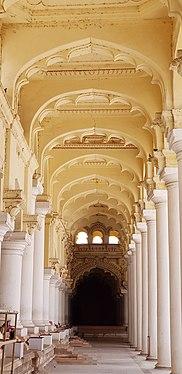 Pillars of the Palace, Madurai, India.jpg