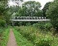 Pipe bridge - geograph.org.uk - 499264.jpg