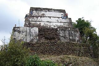Tepotzlan temple Mexico