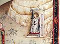 Pisa e firenze, commedia di dante, episodi del purgatorio, 1390 circa poi 1420-25, c.s. 204, c. 95v, 04.JPG