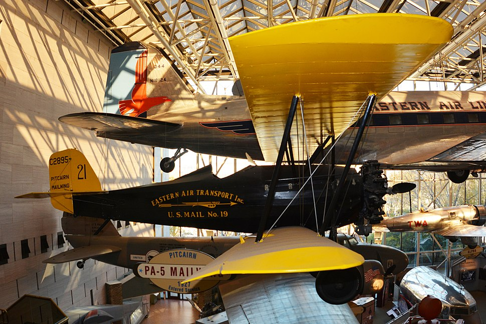 Pitcairn pa-5 mailwing National Air and Space Museum photo D Ramey Logan