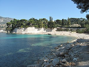 Saint-Jean-Cap-Ferrat - Passable beach