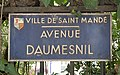 Plaque Avenue Daumesnil - Saint-Mandé (FR94) - 2020-10-16 - 2.jpg