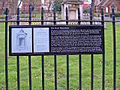 Plaque detailing information about the Soane Mausoleum - geograph.org.uk - 315359.jpg