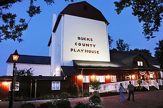 Bucks County Playhouse - Opening Night at the Bucks County Playhouse July 2012