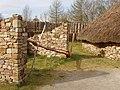 Plough at ringfort, Irish National Heritage Park - geograph.org.uk - 1254062.jpg