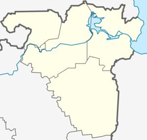 Подпорожский район на карте