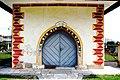 Poggersdorf Pfarrkirche hll. Georg und Jakobus d. Ä. Vorbau Portal 15062007 03.jpg