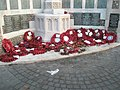 Poignant tributes from the 2008 Remembrance Service - geograph.org.uk - 1072439.jpg