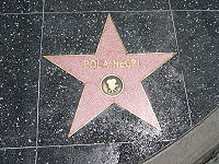 Pola Negri's Star in the Hollywood Walk of Fame