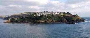Polruan - Polruan from Fowey