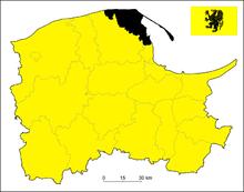 Położenie na mapie województwa