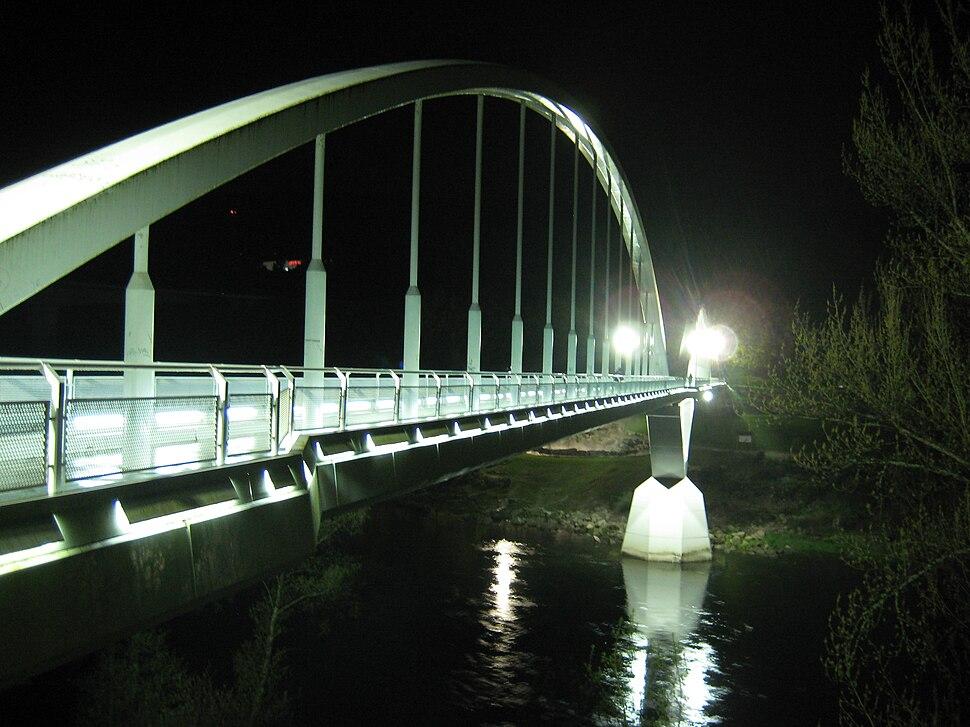 Ponte, río Miño, Outariz (Canedo, Ourense)