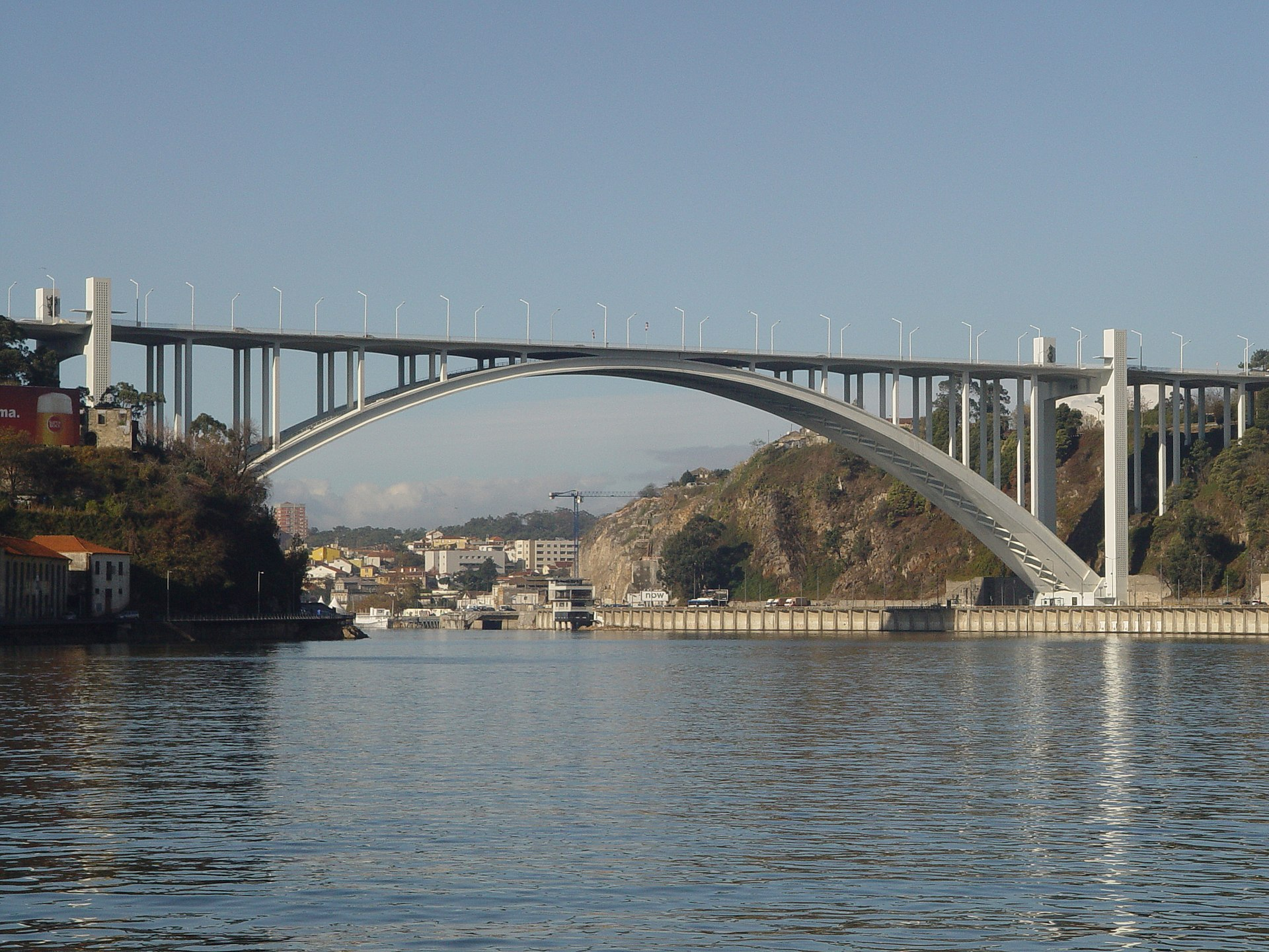 Arrábida Bridge -...