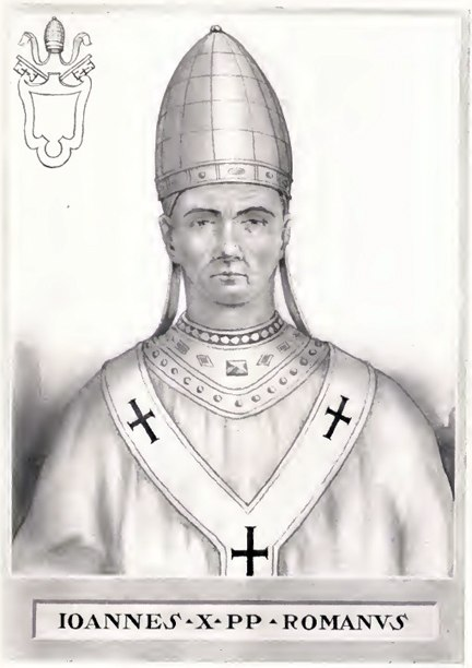 Pope John X Illustration