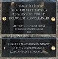 Porajmos plaque (Tapolca Dózsa György út 5).jpg