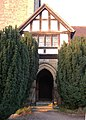 Porch of St Wilfrid's Church, Halton - geograph.org.uk - 640143.jpg