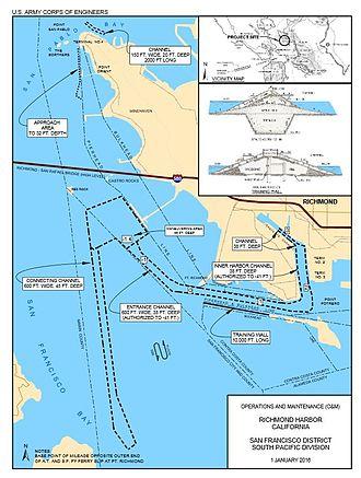Port of Richmond (California) - Port of Richmond map