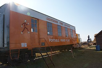Canadian Car and Foundry - Portable power plant built by Canadian Car and Foundry