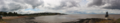 Portishead beach and battery point lighthouse panorama 2.png