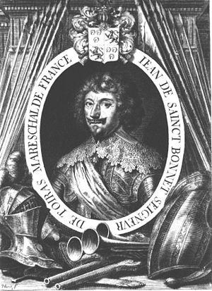 Jean Caylar d'Anduze de Saint-Bonnet - Portrait of Toiras.