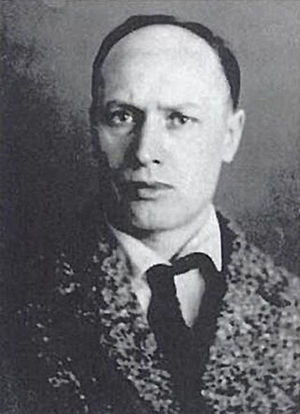 Peter Arshinov - Anarchist and Communist intellectual Arshinov.