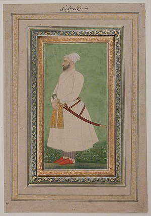 Alivardi Khan - Image: Portrait of Allahwerdi Khan