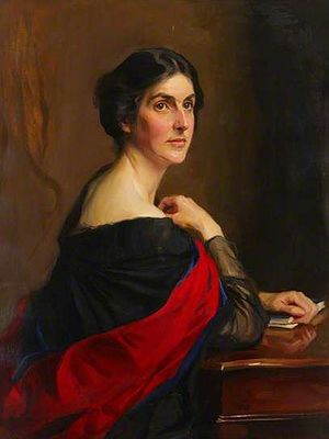 Bertha Phillpotts - Image: Portrait of Bertha Phillpotts by Philip de Lazlo