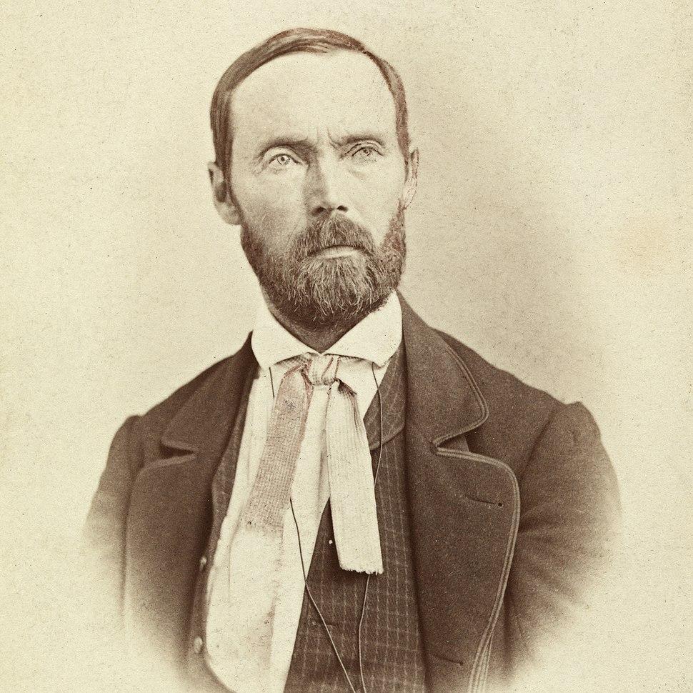 Portrett av forfatter Aasmund Olavsson Vinje