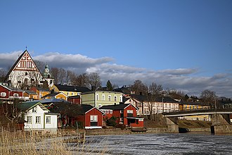 Uusimaa - Image: Porvoo Old Town And Bridge 01