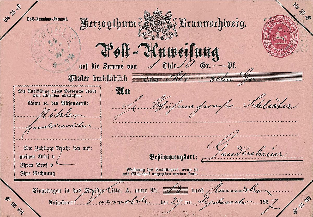 Money order - Wikipedia