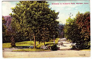 Hubbard Park (Meriden, Connecticut) United States historic place