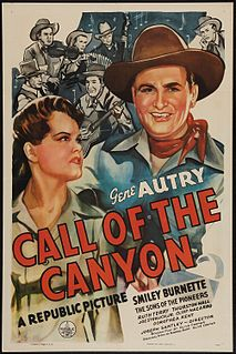<i>Call of the Canyon</i> 1942 film by Joseph Santley