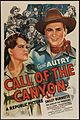 Poster Call of the Canyon.jpg