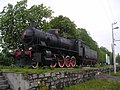 Postojna-steam locomotive FS 740.121.jpg