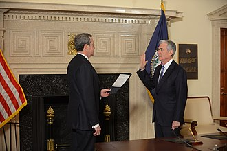 Jerome Powell - Powell sworn in as chair in 2018