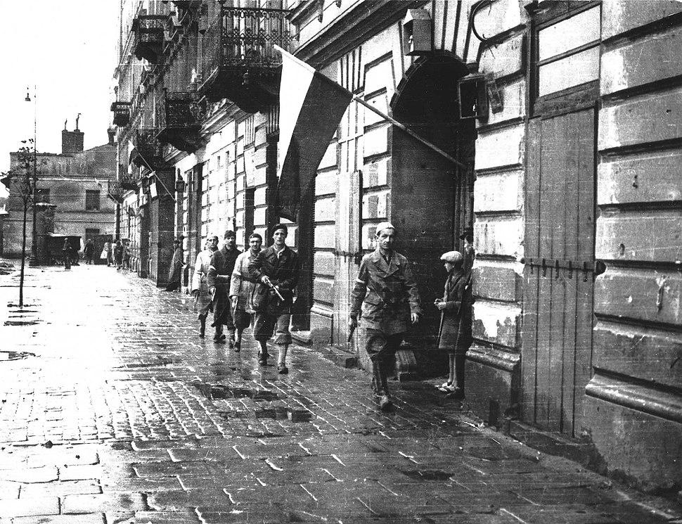 Powstanie Warszawskie Patrol Agatona