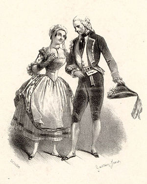 Le postillon de Lonjumeau - Prévost and Chollet as Madeleine and Chapelou
